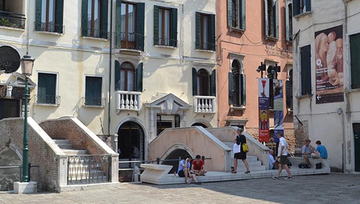 Oxford School Venezia - ingresso Querini Stampalia
